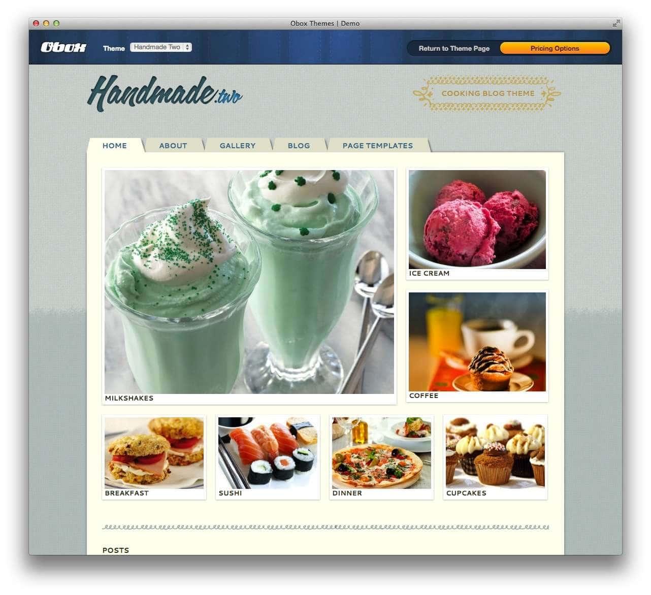 WordPress сайт для кондитерской или кофейной7