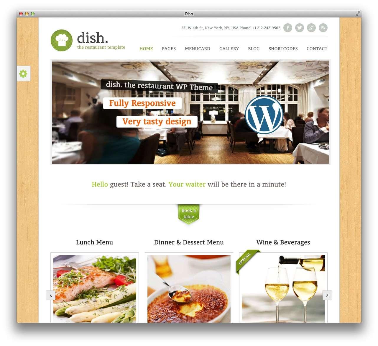 WordPress сайт для кондитерской или кофейной8
