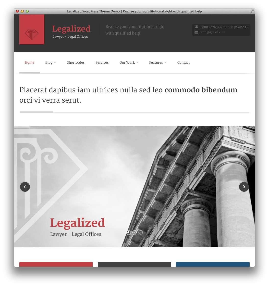 WordPress – Адвокаты и юридическая практика20