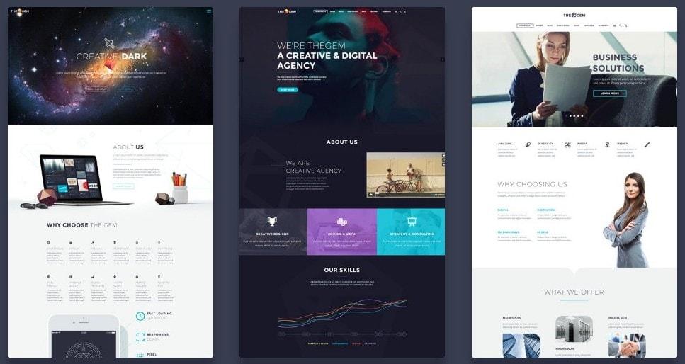 скачать темы WordPress с премиум дизайном и функциями 04