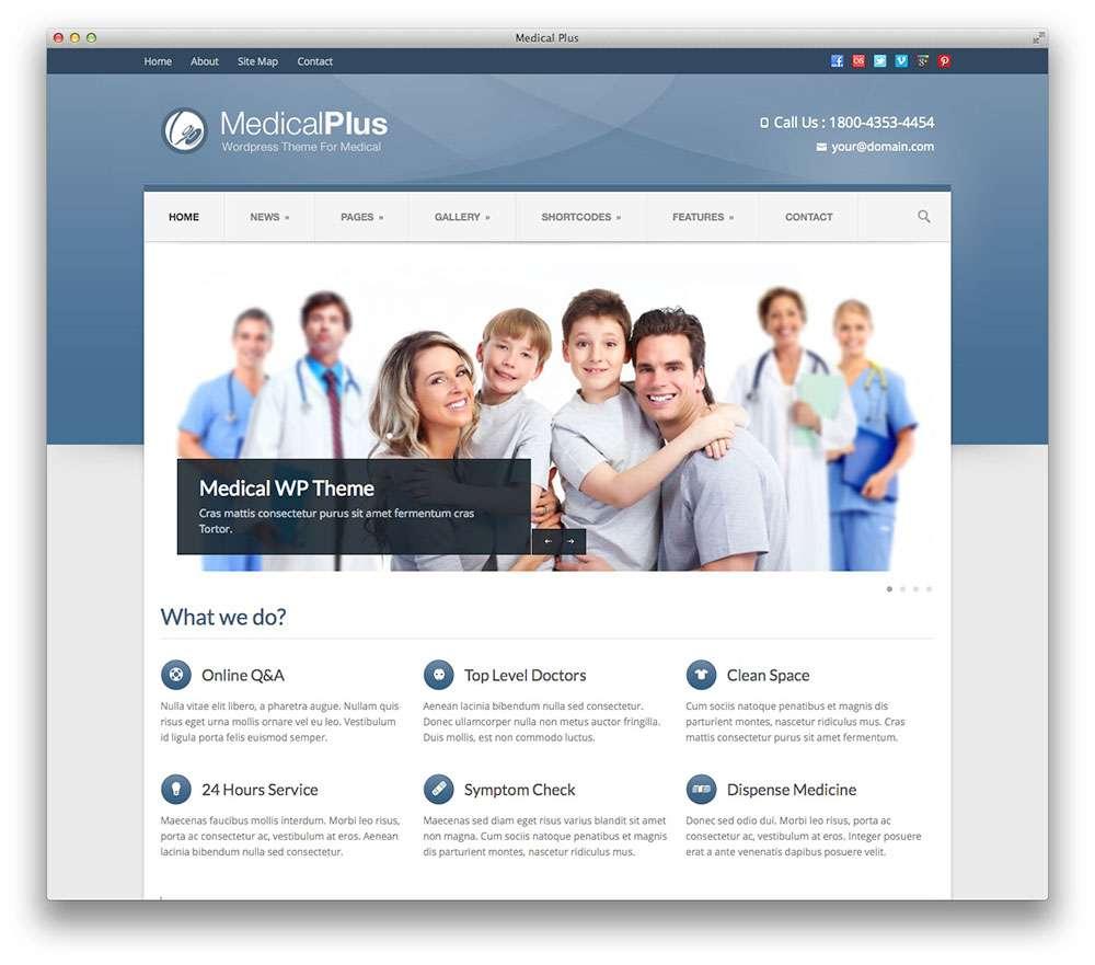 WordPress темы о здоровье 18