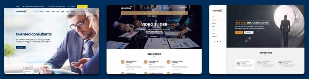 профессиональные корпоративные темы на WordPress 01