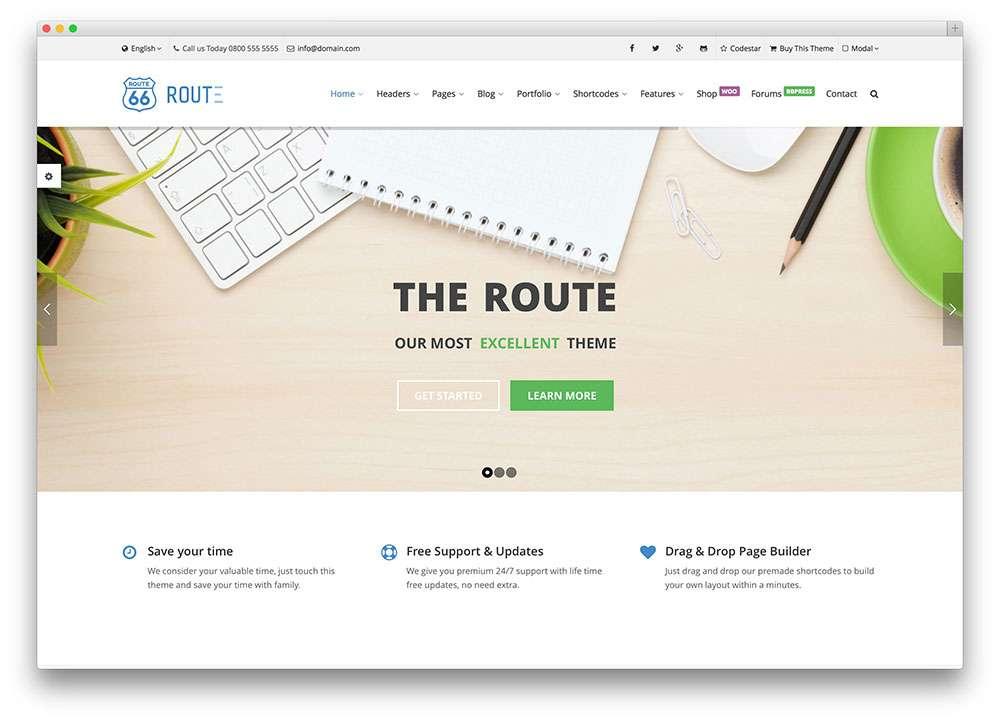 Коллекция шаблонов WordPress
