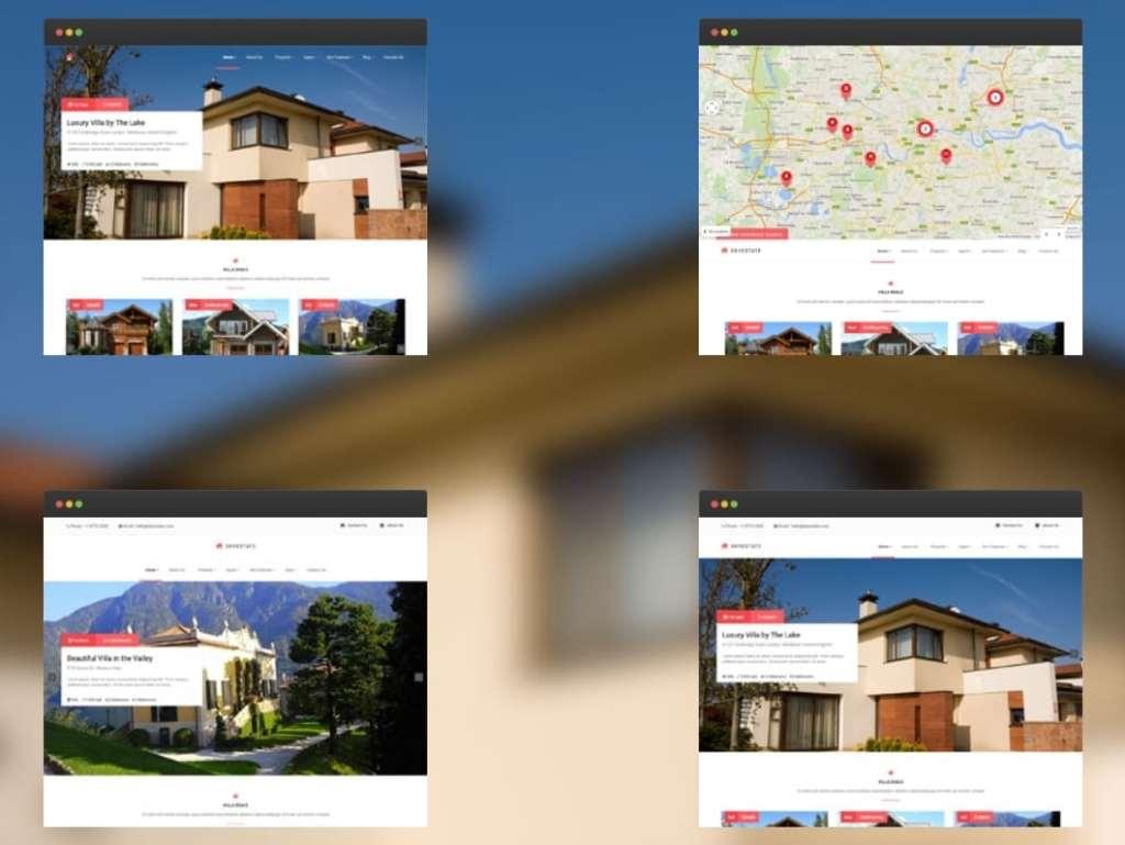 русские шаблоны WordPress для недвижимости для сайтов с каталогом и онлайн-оплатой 20