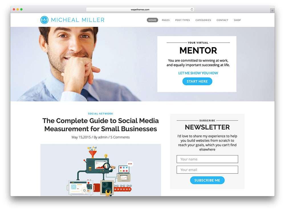 Корпоративный сайт на WordPress