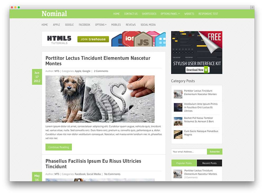 сайт WordPress под Google Adsense
