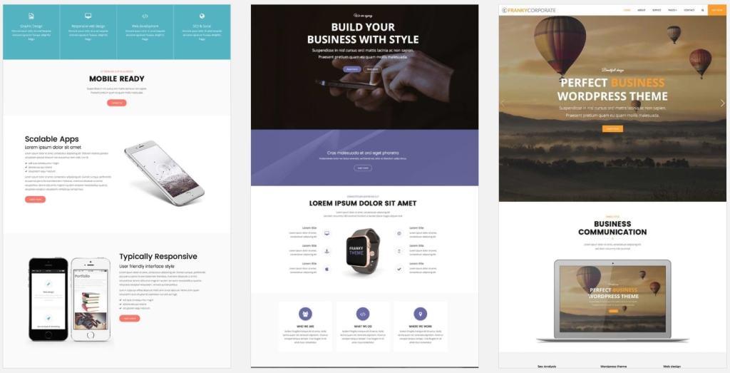Минимализм шаблоны WordPress – Красивые сайты в стиле минимализм 03