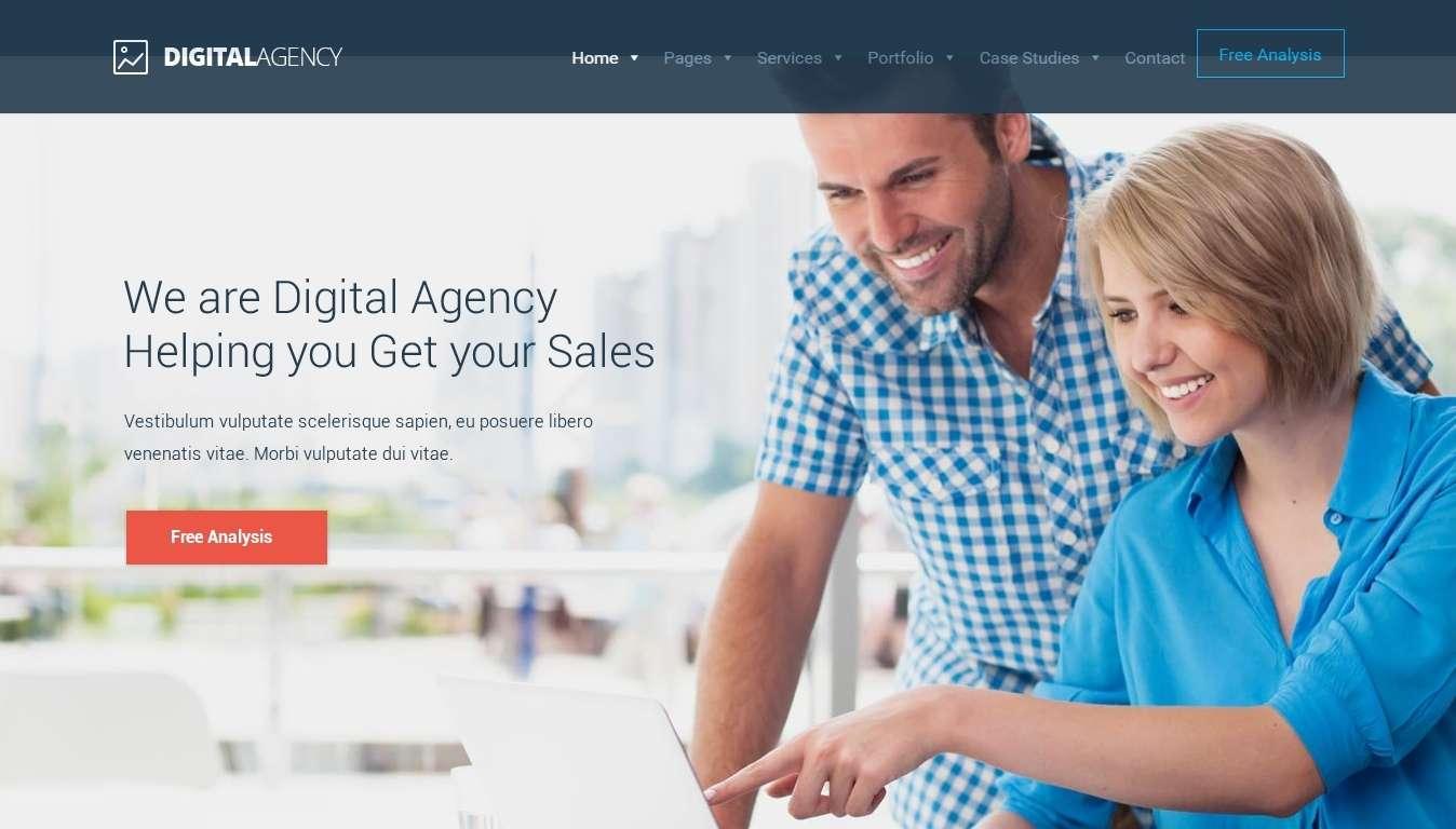 Digital Agency –Тема WordPress с SEO и Маркетингом