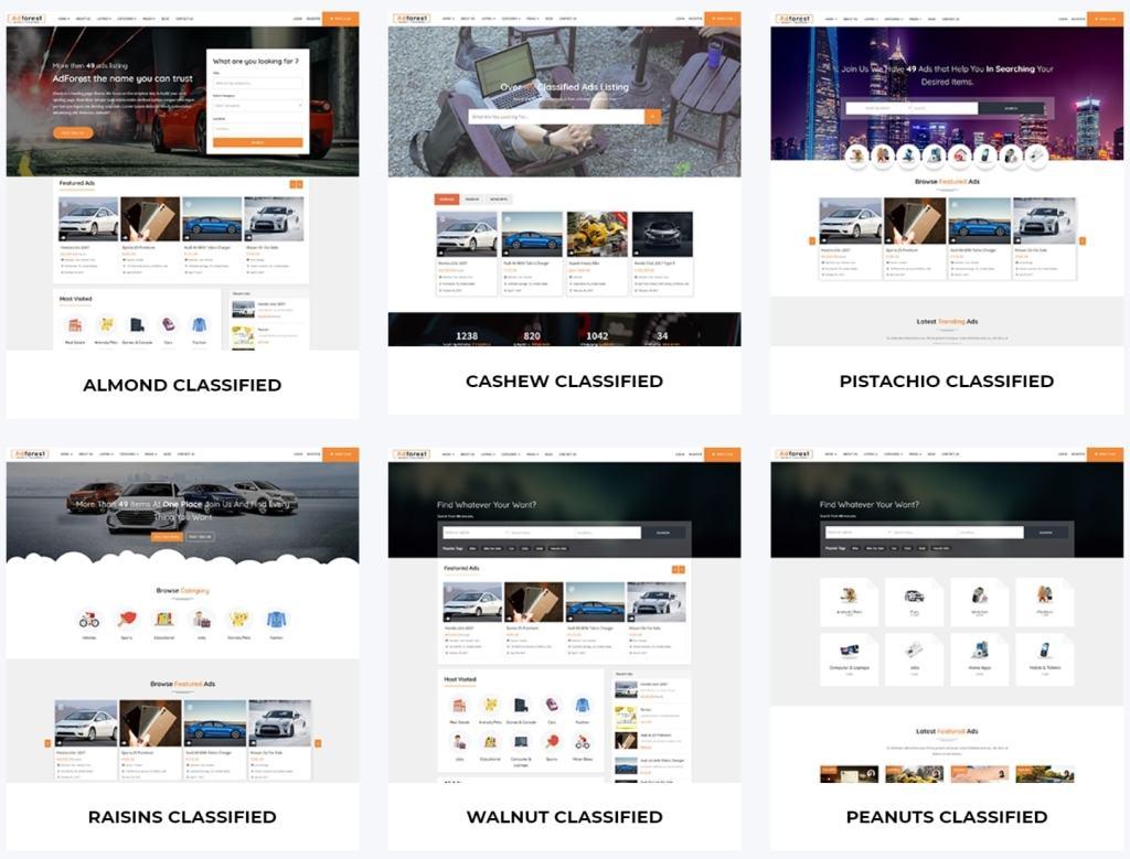 WordPress доска объявлений - эффективное решение для заработка и продвижения 01
