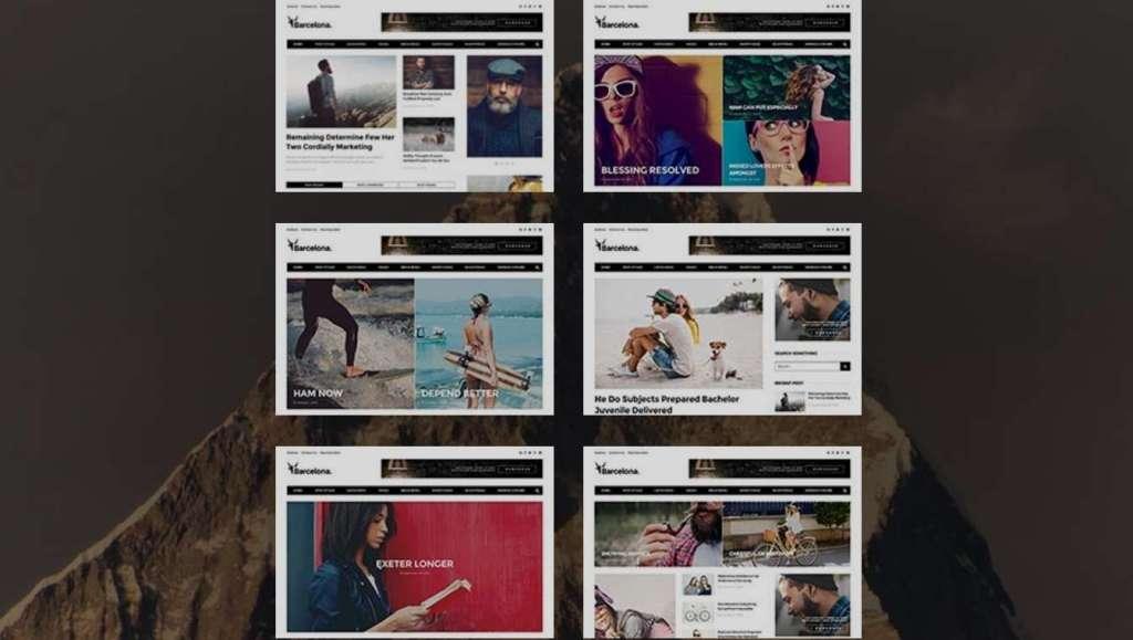 великолепные новые шаблоны WordPress 2016