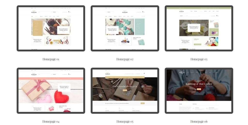 великолепные новые WordPress Woocommerce Themes