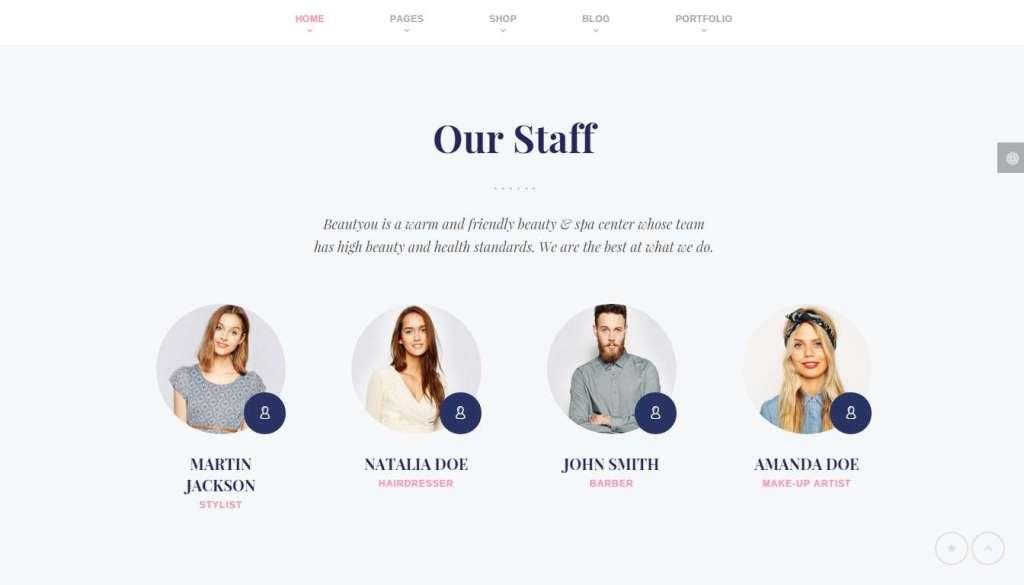 Эксклюзивный шаблон салона красоты на WordPress 2016