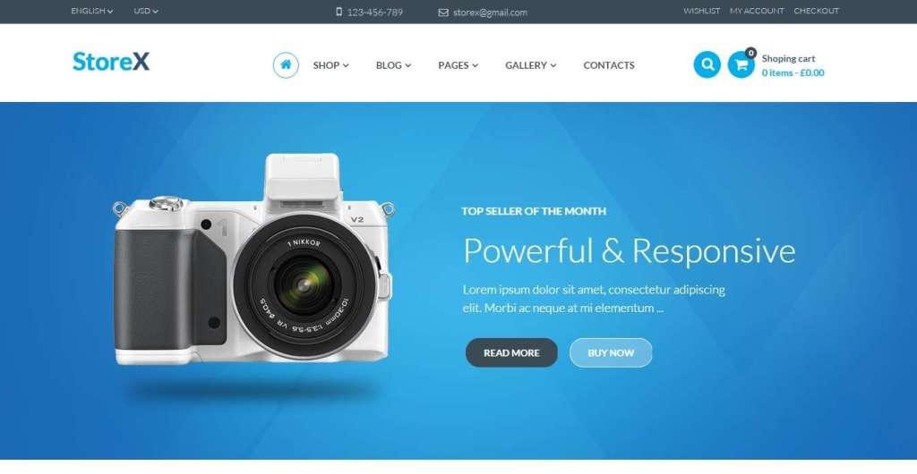 достойный шаблон интернет магазин электроники для WordPress
