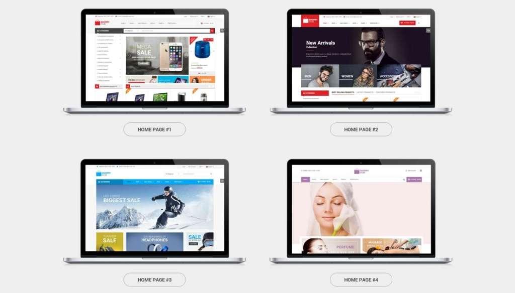 замечательный шаблон интернет магазин электроники для WordPress