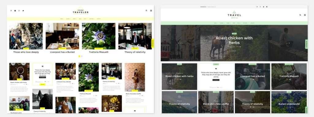 лучшие WordPress blog премиум шаблоны для блога 2016