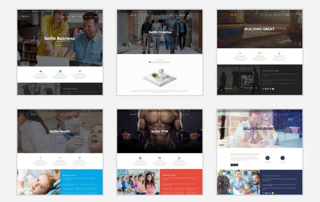 лучшие Bootstrap шаблоны WordPress 2016 6