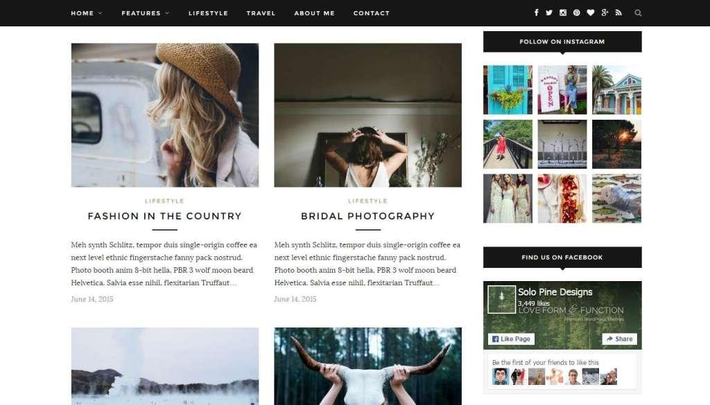 великолепные WordPress Instagram шаблоны и плагины 2016