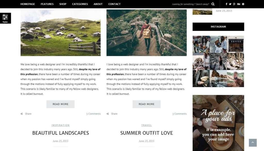 достойные WordPress Instagram шаблоны и плагины 2016