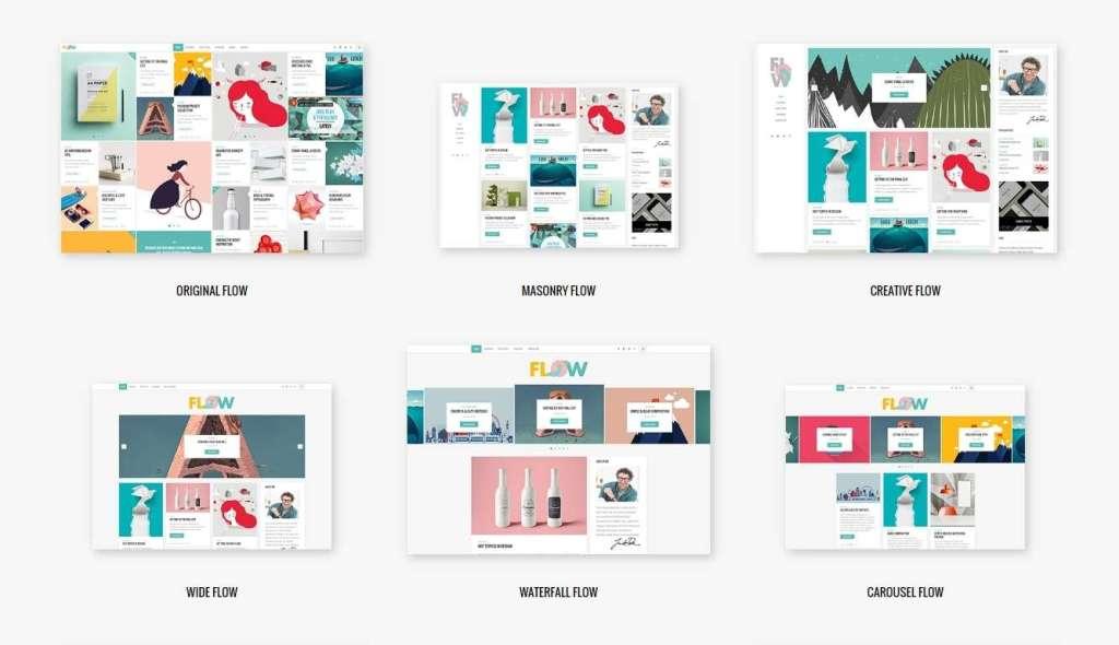 оригинальные премиум WordPress шаблоны сайта для музея и галереи 2016