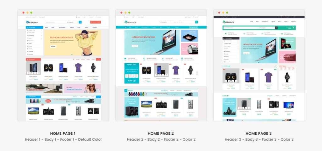 супер темы Prestashop с премиум дизайном и функциями 2017