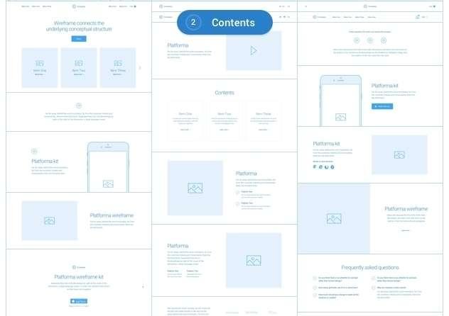 премиум Sketch Шаблоны и UI компоненты 2017 - 80+ Sketch шаблонов 01