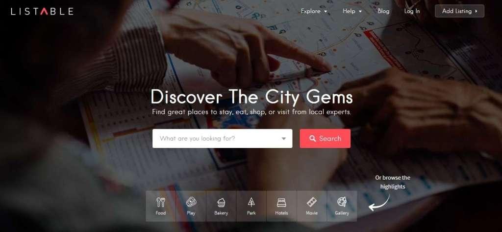 лучший шаблон городского портала на WordPress 2017 1