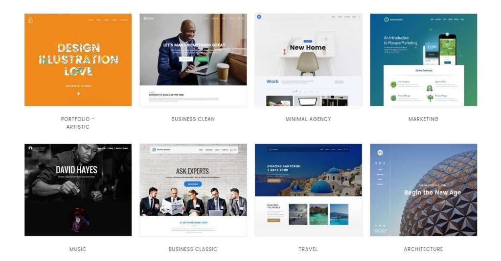 лучшие шаблоны сайта дизайн студии 2017 10