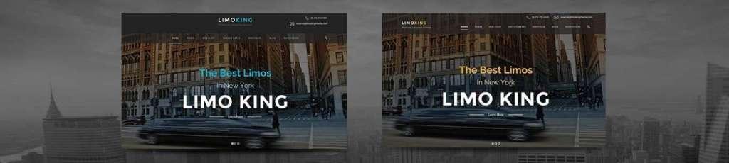 лучший шаблон сайта такси 2017 1