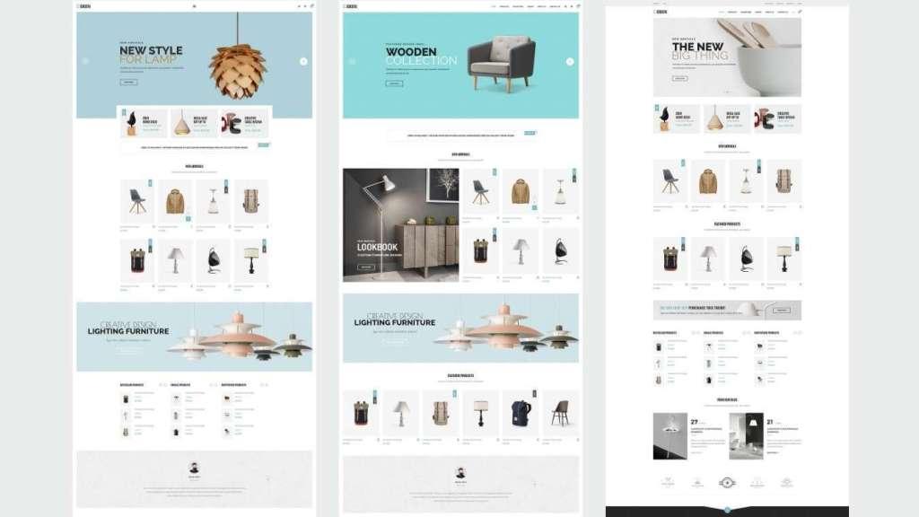 ТОП 10 красивые шаблоны интернет магазинов 2017 10