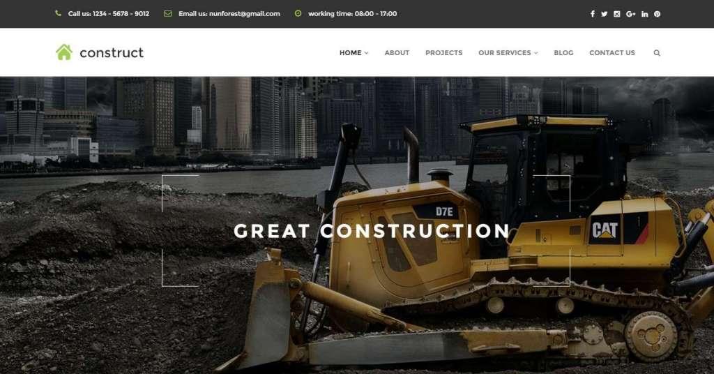 надежные шаблоны сайтов строительство домов и ремонт
