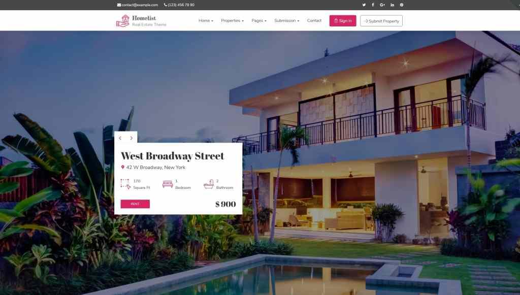 лучшие шаблоны сайта аренды с удобным каталогом для поиска 03