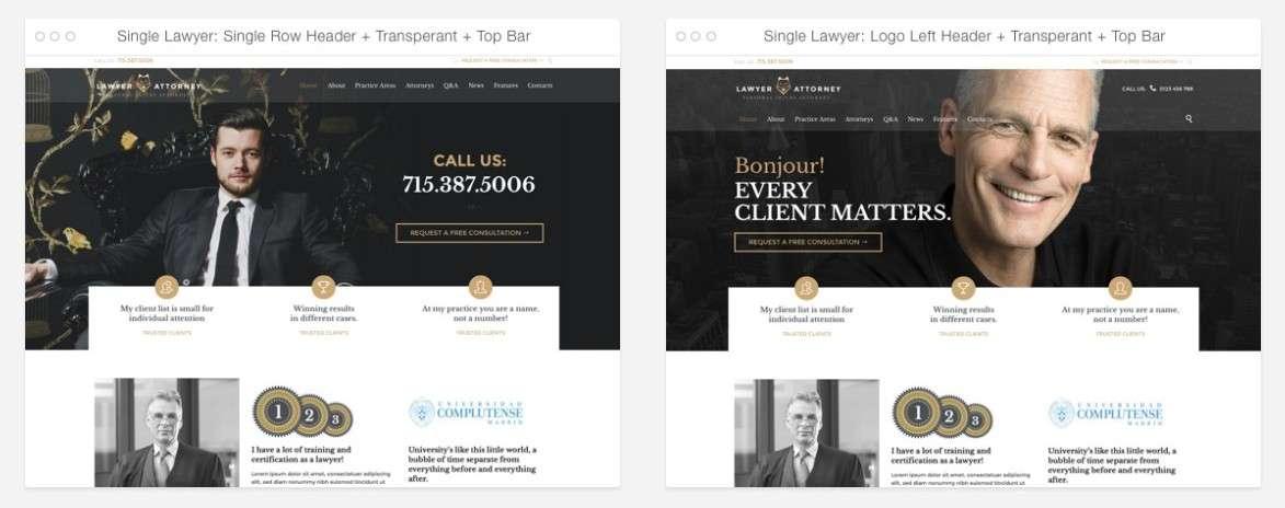 Шаблон сайта юридической компании скачать