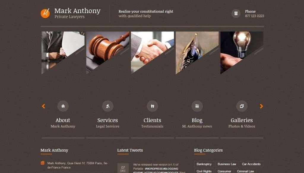 шаблоны юридических сайтов 8