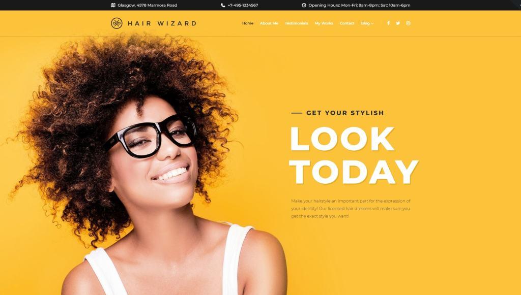 шаблоны WordPress для салона красоты и SPA с онлайн-записью 03