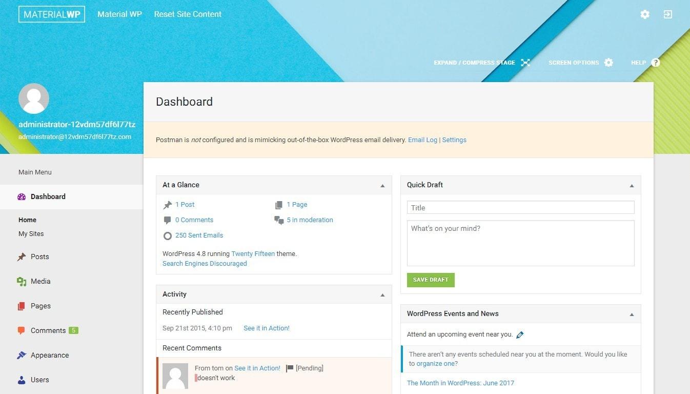 Админка WordPress ТОП 20 премиум и бесплатные шаблоны и плагины 2017 04