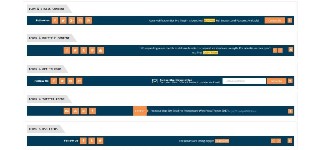 WordPress уведомления – Панель для сайта или магазина и уведомления Facebook 3