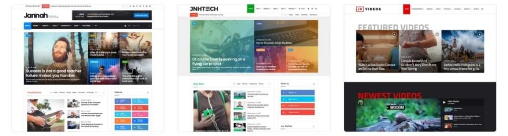 лучшие шаблоны веб сайтов 2018 с современным функционалом и дизайном 09