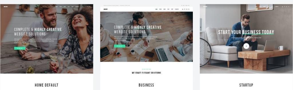профессиональные шаблоны для сайтов с функцией портфолио и магазина 10