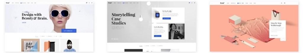 шаблон сайта для фрилансера со стильным дизайном и онлайн-оплатой 6
