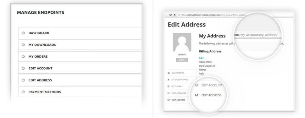WooCommerce личный кабинет покупателя: Плагины настройки интерфейса 01