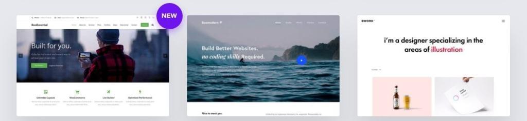 шаблоны многостраничных сайтов: блог, бизнес-сайт и портфолио 09