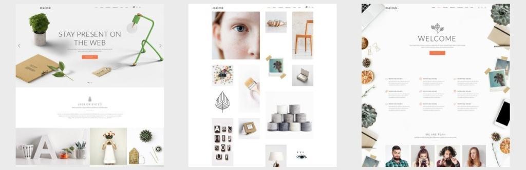 шаблоны многостраничных сайтов: блог, бизнес-сайт и портфолио 10