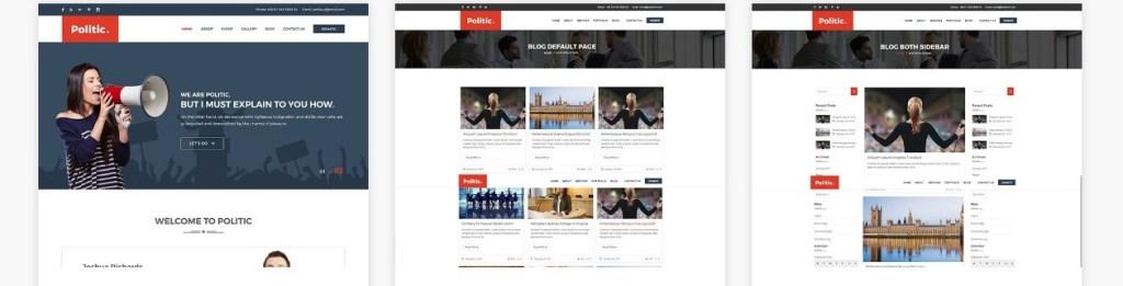 шаблоны сайтов организации для бизнеса и благотворительности 06