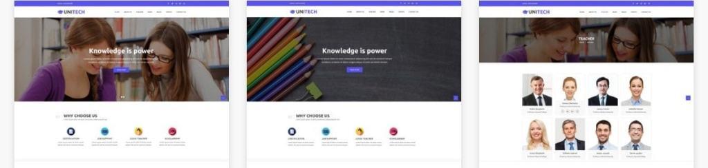 шаблон сайта для учителя с календарем и онлайн-оплатой 4
