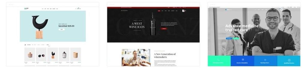 шаблон сайта товаров с быстрым поиском и безопасной онлайн-оплатой 01