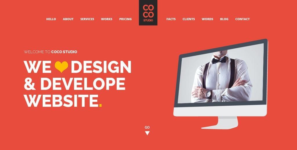 макет сайта Bootstrap для отзывчивых веб-ресурсов 13