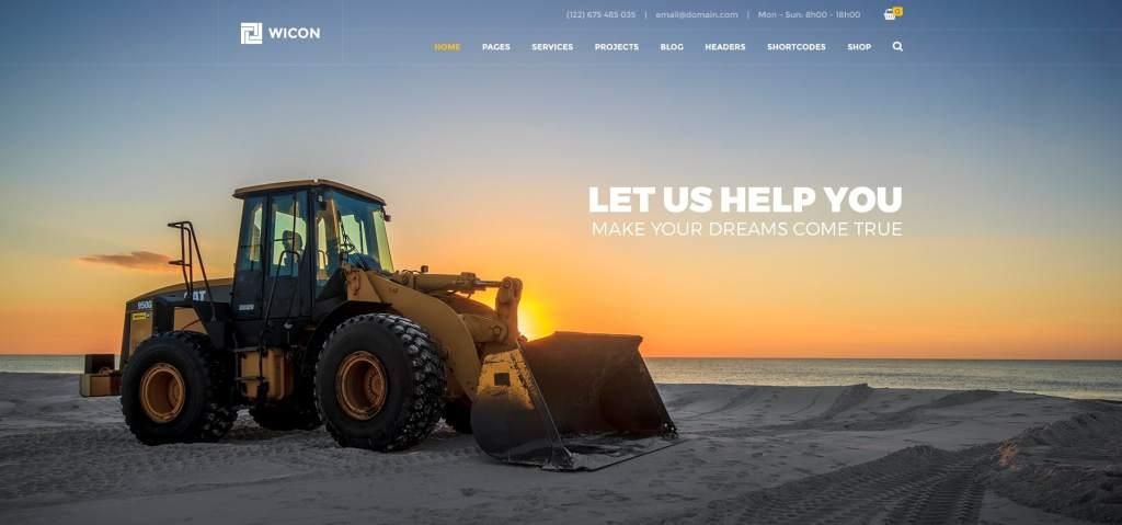 макет строительного сайта для серьезного бизнеса 10