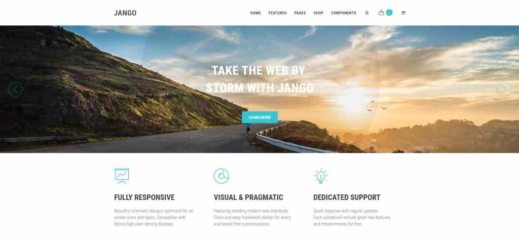 корпоративные шаблоны HTML: Веб-решение под любую платформу 06