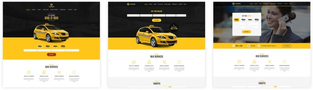 cовременная верстка сайта со стильным дизайном премиум класса 13
