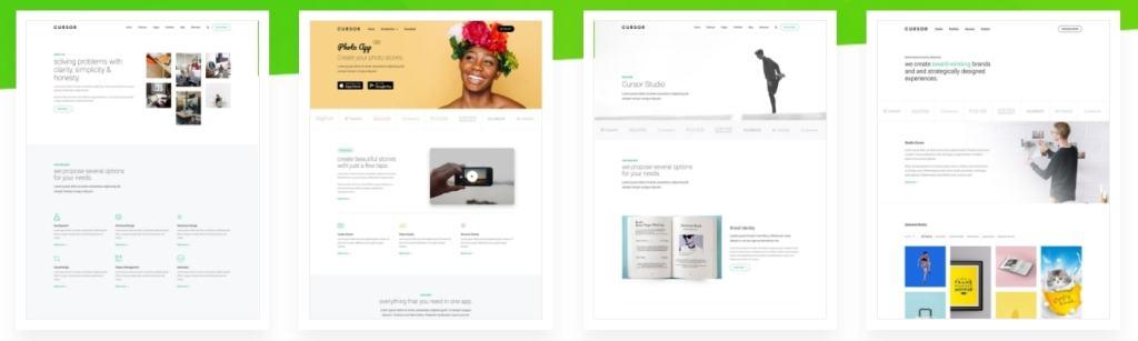 макеты сайтов HTML с возможностью разработки под любую платформу 09